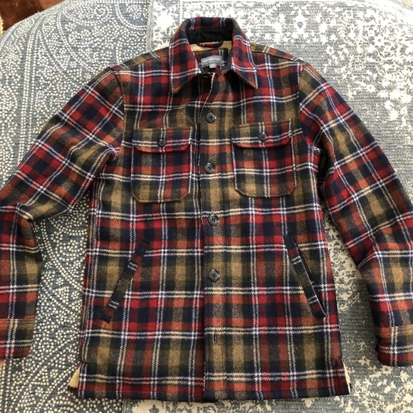 L.L. Bean Other - LL Bean Sherpa lined wool shirt jacket